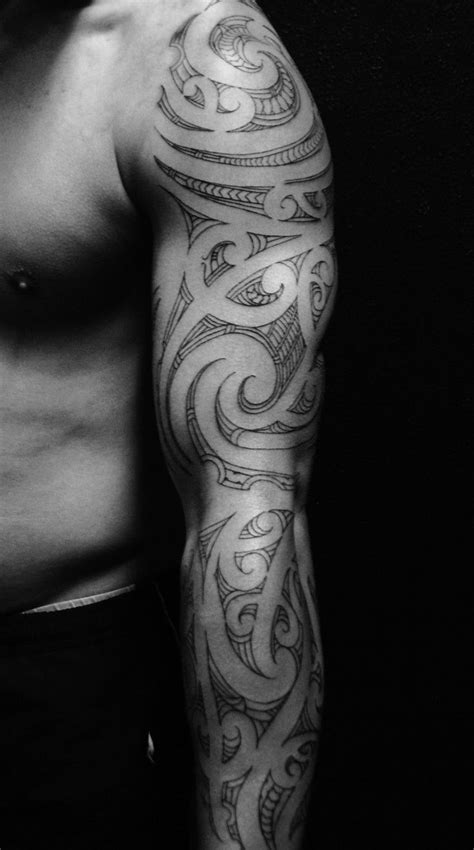 80 ARTISTIC SLEEVE TATTOO FOR MEN - Godfather Style