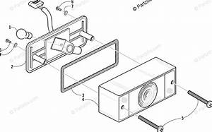 Arctic Cat Atv 2001 Oem Parts Diagram For Taillight Assembly