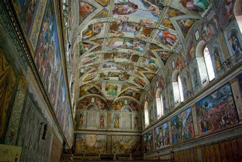la chapelle sixtine fresque par michel ange