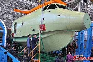 Amphibious aircraft AG600 has nose section ready[1 ...