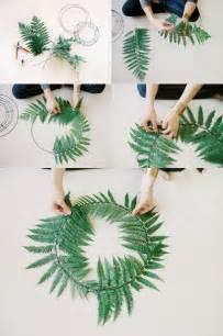 Fern Wreaths Wedding DIY