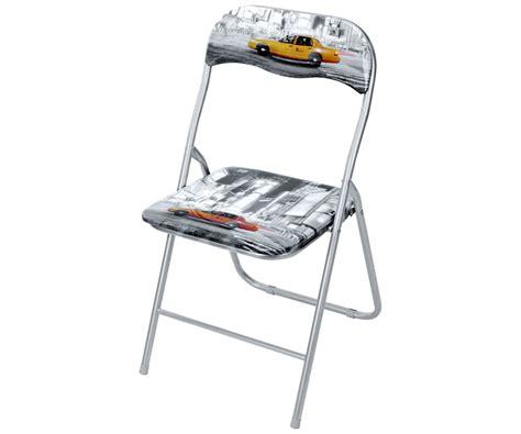 chaise bureau york chaise pliable design york taxi avenue dossier assise