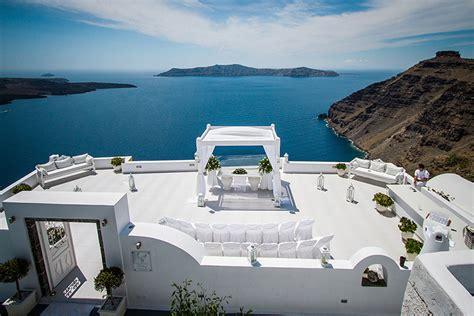 Arch Decorations For Weddings by Dana Villas Exclusive Weddings In Santorini