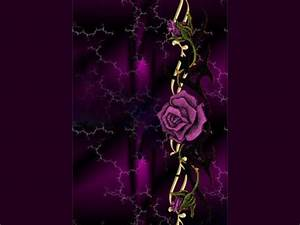 Purple Rose Wallpaper Home 9 Cool Hd Wallpaper ...