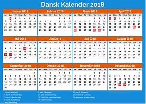 Dansk Kalender 2018 newspicturesxyz