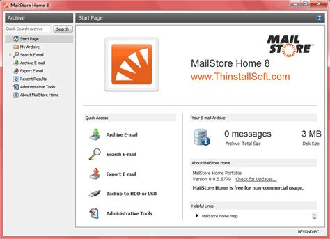 mailstore home portable 8 1 0 9075 best free email archiving and backup software