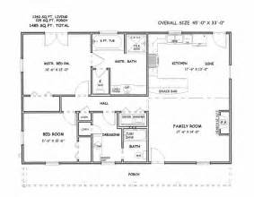 floor plans for 3 bedroom house on floor with three