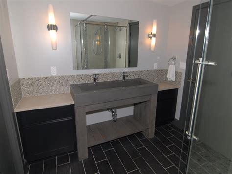 enzy living basement remodel  master suite