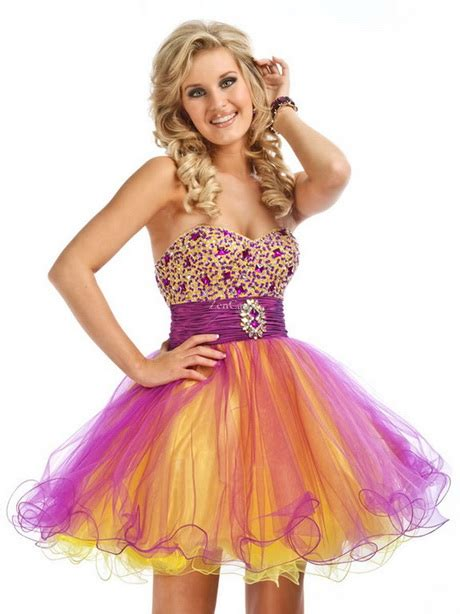 colorful shorts colorful prom dresses