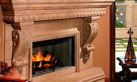 Corbel Fireplace by Architectural Architectural For Residential