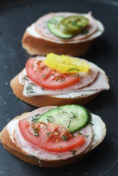 canape spread 1000 images about sandwiches crostini wraps on