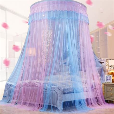 color   sheer princess bed canopy decorzee