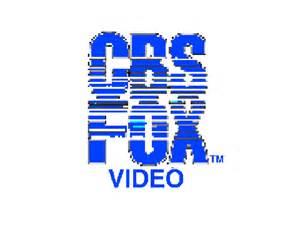 CBS Fox Video Logo Scratch