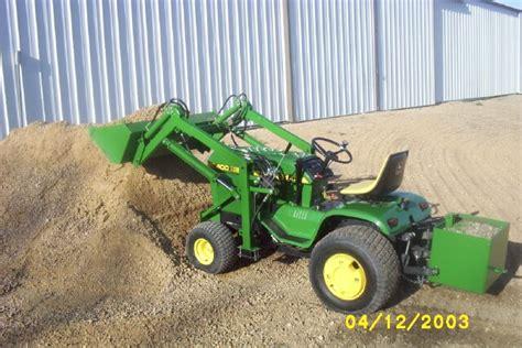 garden tractor front end loader kits diy front end loader plans diy do it your self