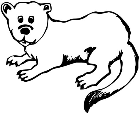 Otter Coloring Pages Getcoloringpagescom