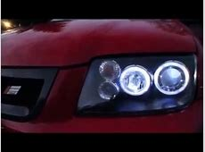 MK4 Jetta Audi style halo headlights YouTube