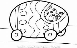 Ostereier Schablonen Zum Ausdrucken : ausmalbild ostern osterhase und sein auto kostenlos ausdrucken ~ Yasmunasinghe.com Haus und Dekorationen