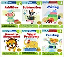 kumon grade  complete set  workbooks addition