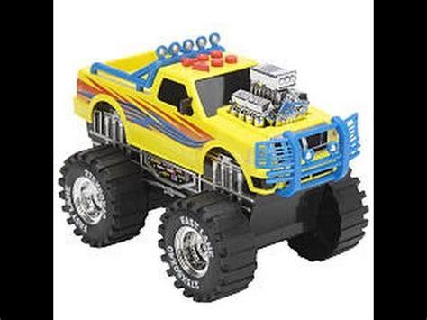 monster trucks races cartoon monster trucks toys race cartoon for children youtube