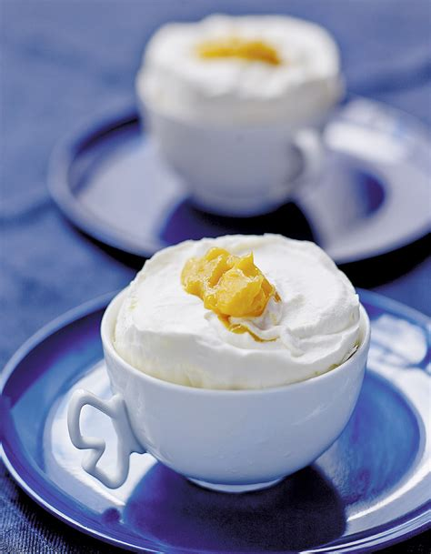 recettes de cuisine noel soufflés glacés vanille mangue pour 6 personnes recettes