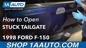 How To Open Stuck Tailgate 97-04 Ford F-150