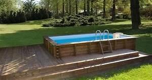 les concepteurs artistiques piscine hors sol imitation With piscine rectangulaire hors sol pas cher