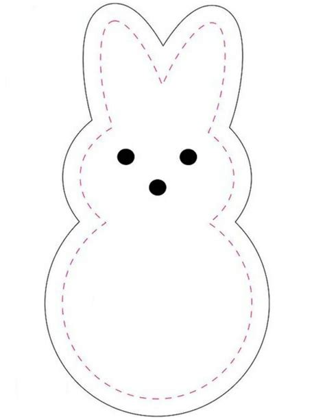 Bunny Template For Sewing by Felt Easter Bunny Crafts So Can You Your Easter Decor
