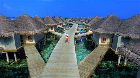 hotel cinnamon dhonveli maldives aerial film drone youtube