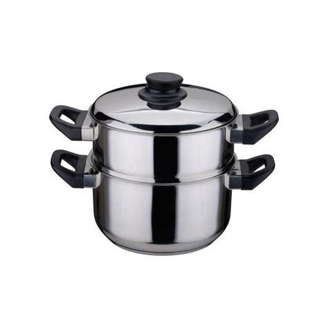 batterie de cuisine pradel combiné vapeur en inox diam 20