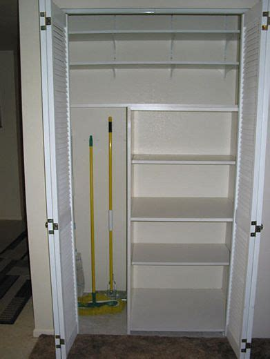 Kitchen Pantry Storage Cabinet Broom Closet by Maybe This Configuration Would Work For The Kitchen Pantry