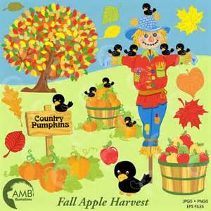 Fall Harvest Scarecrow Clip Art