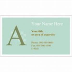 monogram business card 10 per sheet With avery template 28371 business cards