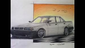 Nissan Tsuru Drawing
