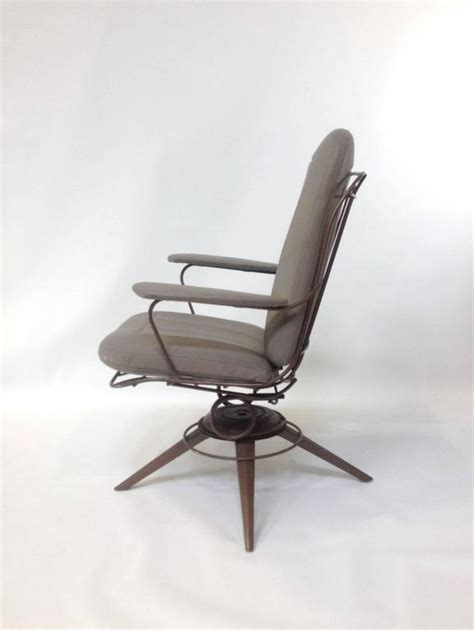 mid century modern homecrest wire deck chairs for sale at