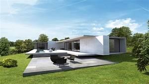 maison design par jean yves arrivetz sebastien belle With good creer plan de maison 8 maison contemporaine sur un terrain en pente