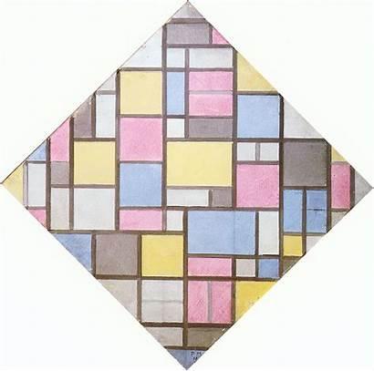 Composition Grid Mondrian Piet Vii 1919 Wikiart