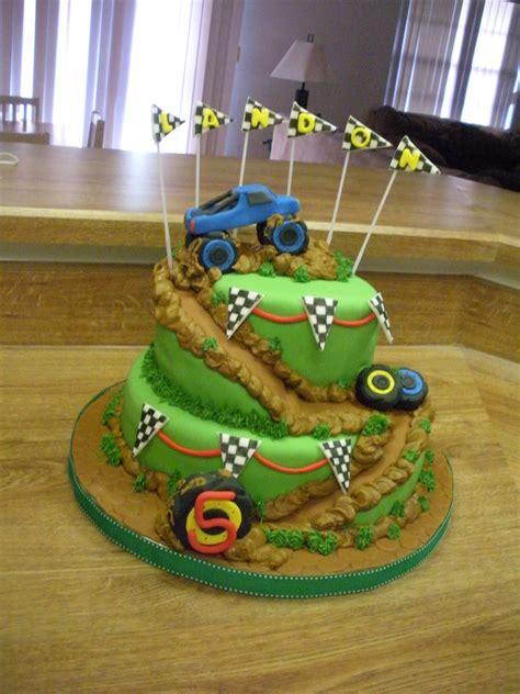 monster truck birthday party cakecentralcom