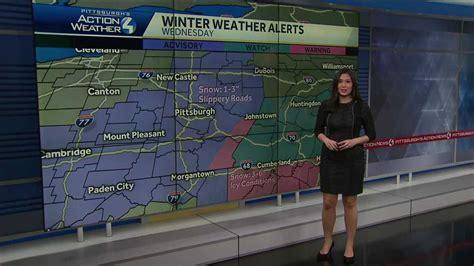 winter weather advisory   effect tomorrow morning