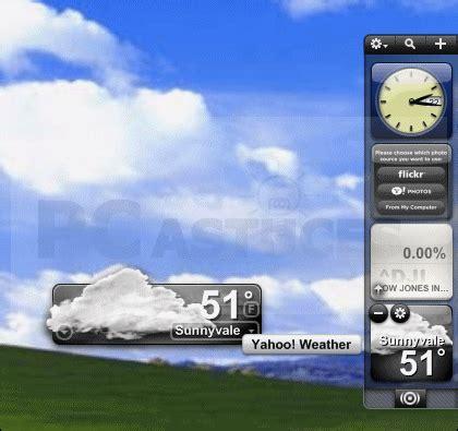 widget meteo bureau pc astuces personnaliser le bureau de windows avec des