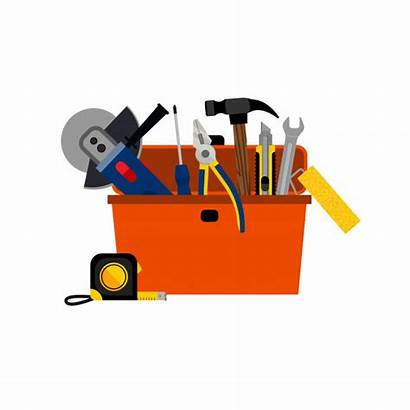 Toolbox Diy Repair Vector Clipart Vectors Freepik