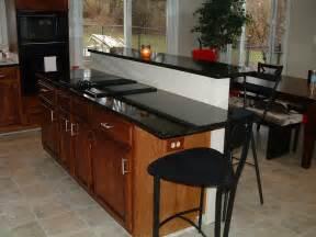 kitchen island with bar top bar top kitchen island