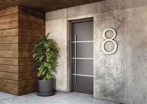 portes d39entree aluminium silver batiman experts en With decoration bois exterieur jardin 11 transformer maison traditionnelle en maison contemporaine