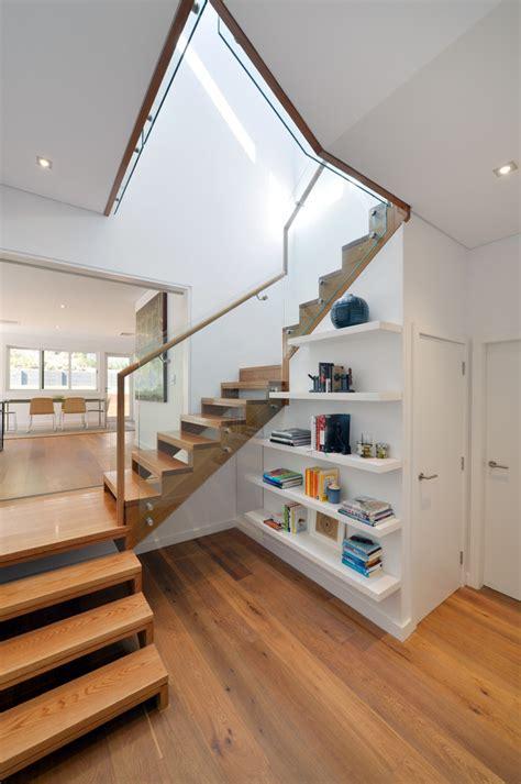 split level home interior impressive stair handrail convention sydney contemporary