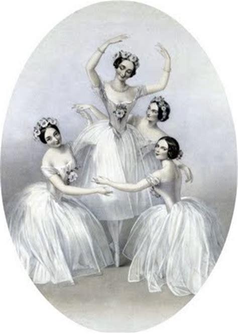 antique clip art beautiful ballerinas