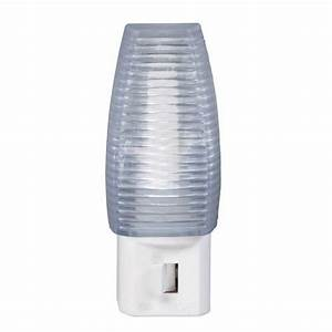 Led Faceted Manual On  Off Night Light