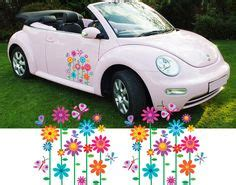 girly car brands girly car flower graphics stickers vinyl decals 2