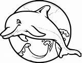 Dolphins Raskrasil sketch template