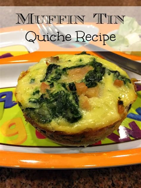 easy mini quiche recipe  typical mom