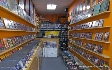 daily   film noir video rental store  bedford