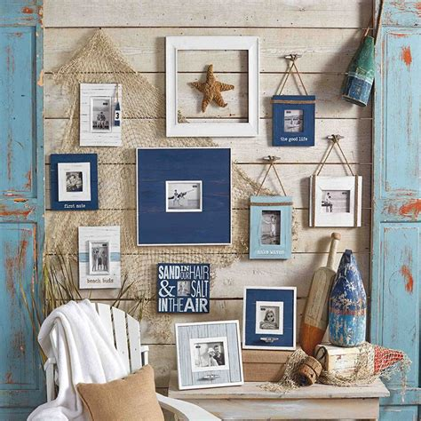 beach gallery wall coastal charm beach wall decor